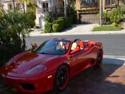 2001 Ferrari 360 Ferrari 360 spider