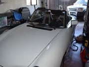 Alfa Romeo Spider Alfa Romeo Spider white with black convertible top