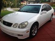 White Lexus gs 300